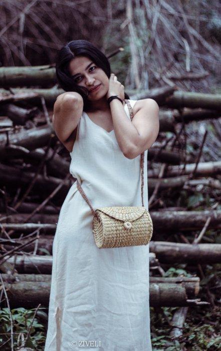 handcrafted kauna reed bag