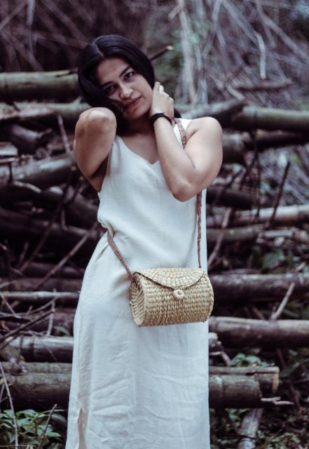 handcrafted kauna reed bag