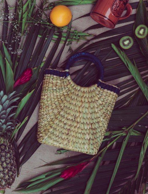 stylish weaved bag Ziveli