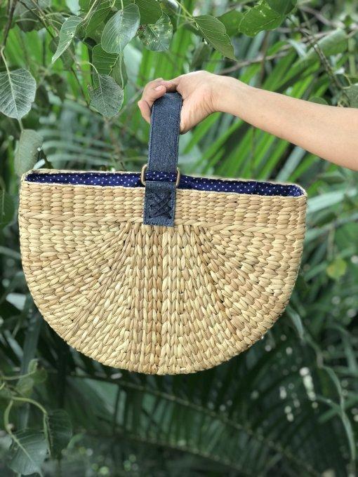 handcrafted luxury handbag - Ziba