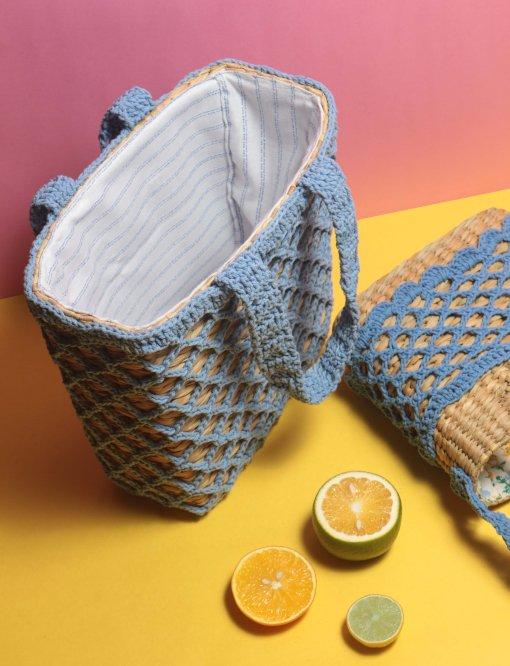 lola crochet handbag
