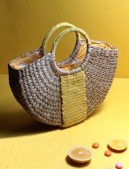 women straw handbag buy online