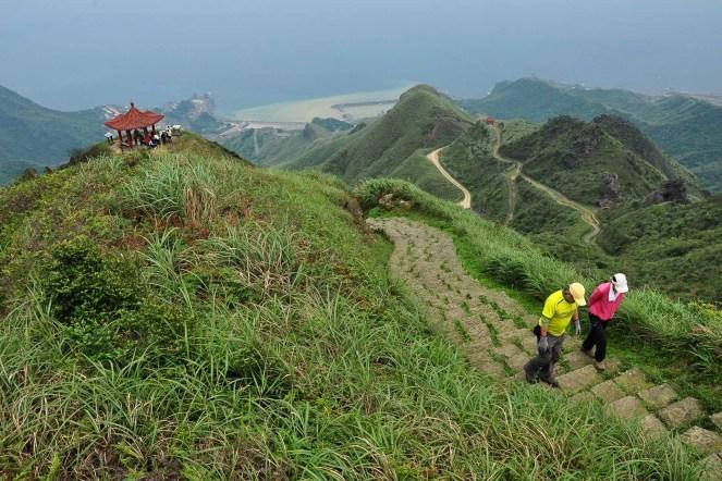 Keelung, Jiufen turistika Taiwan