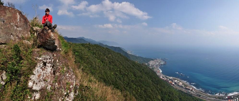 Yilan výhled na Tichý oceán Taiwan