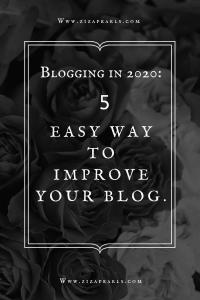blogging in 2020