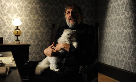 Slavoj Žižek: Blofeld rides again, Intervew with Danny Leigh