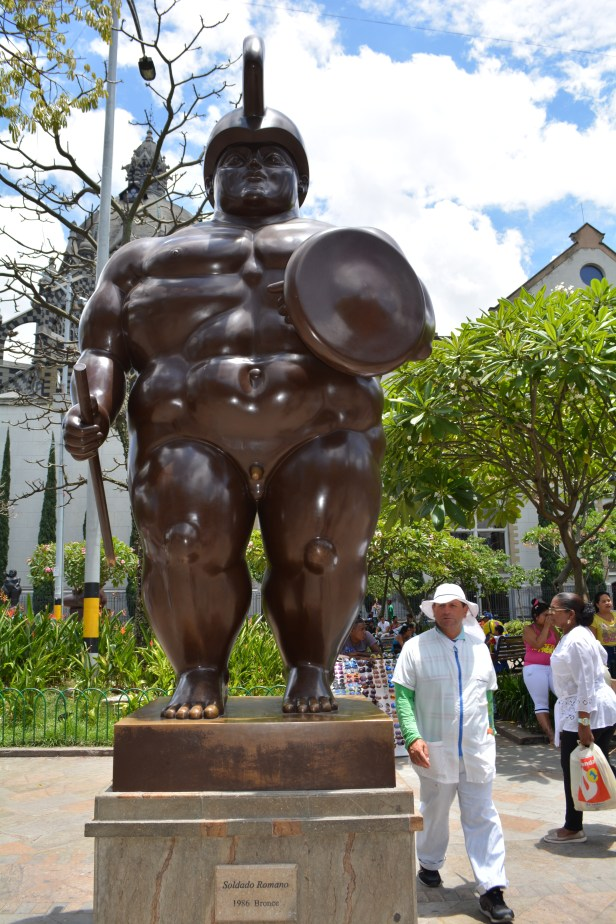 Botero Sculptures, Playing with Proportions