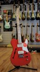 Squier Paranormal Cabronita Telecaster Thinline – Fiesta Red