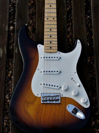 Fender Custom Shop '55 Stratocaster Hardtail CC – 2 Tone Sunburst