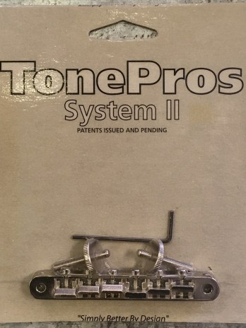 TonePros AVR2-N Vintage Tune-O-Matic Bridge