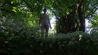 today's nude walk
