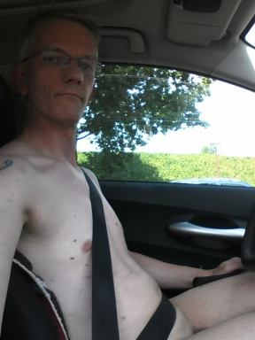 driving nude