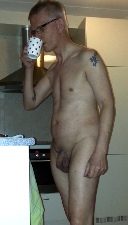 nude person