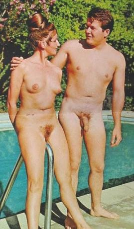 Two nudists