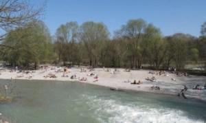 Nude sunbathing Munich