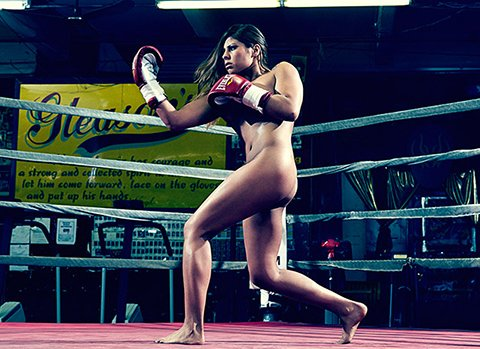 nude boxing