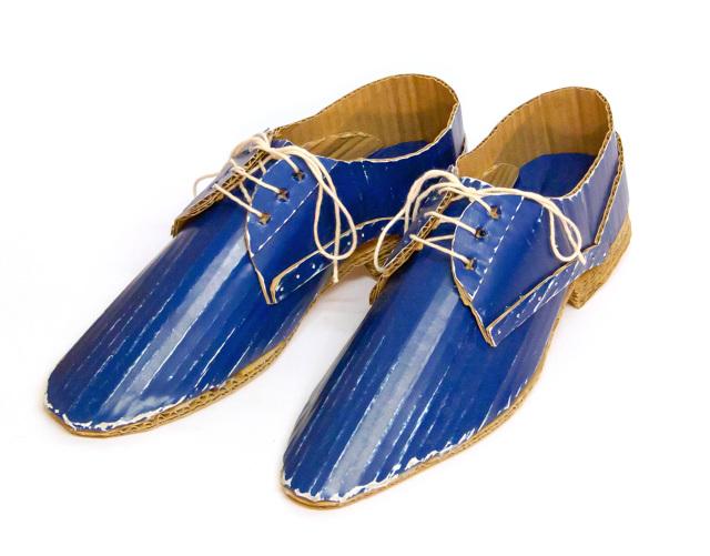 buty z kartonu - 2