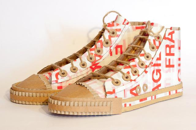 buty z kartonu - 3