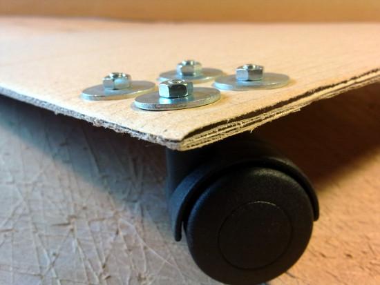 kolka-2-4 - meble z tektury, meble z kartonu,