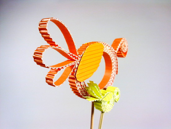 kurki-5 - Zabawki z tektury, zabawki z kartonu