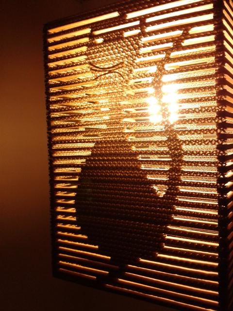 Kocia lampa z karonu - 5