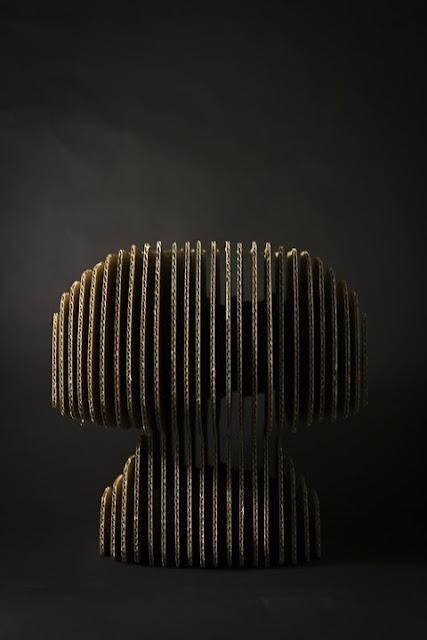 krzeslo-projekt-3 - krzesła z kartonu
