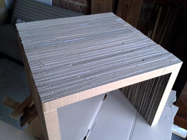 stol z tektury - 5
