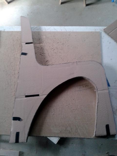 Projekty ksiazkowe z tektury - stolek - 5