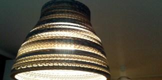 3 lampy w domu - 10 - karton, tektura