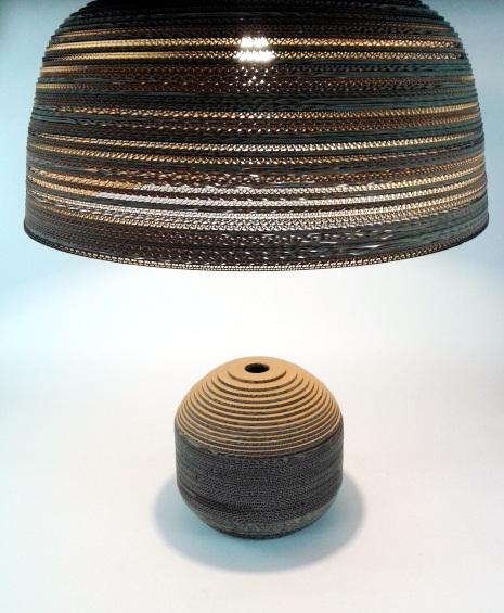 Jasna 70 - 4 lampa z kartonu