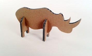 Nosorozec z tektury - 4