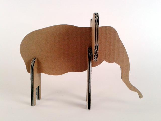 Slon z kartonu - 3
