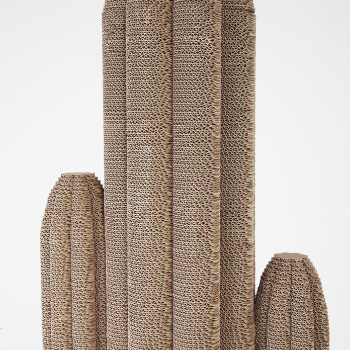 kaktus z kartonu - 3
