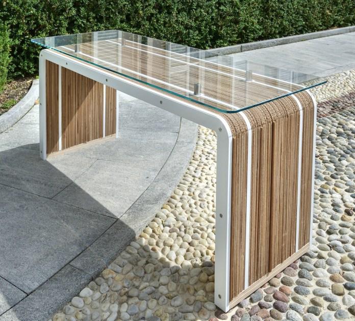 karton szklo drewno - 2