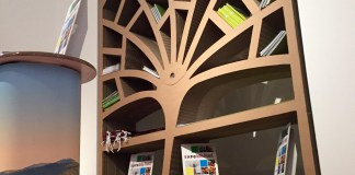 polka drzewo z kartonu - 1