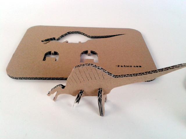 kartonowe dinozaury - 5 - 3