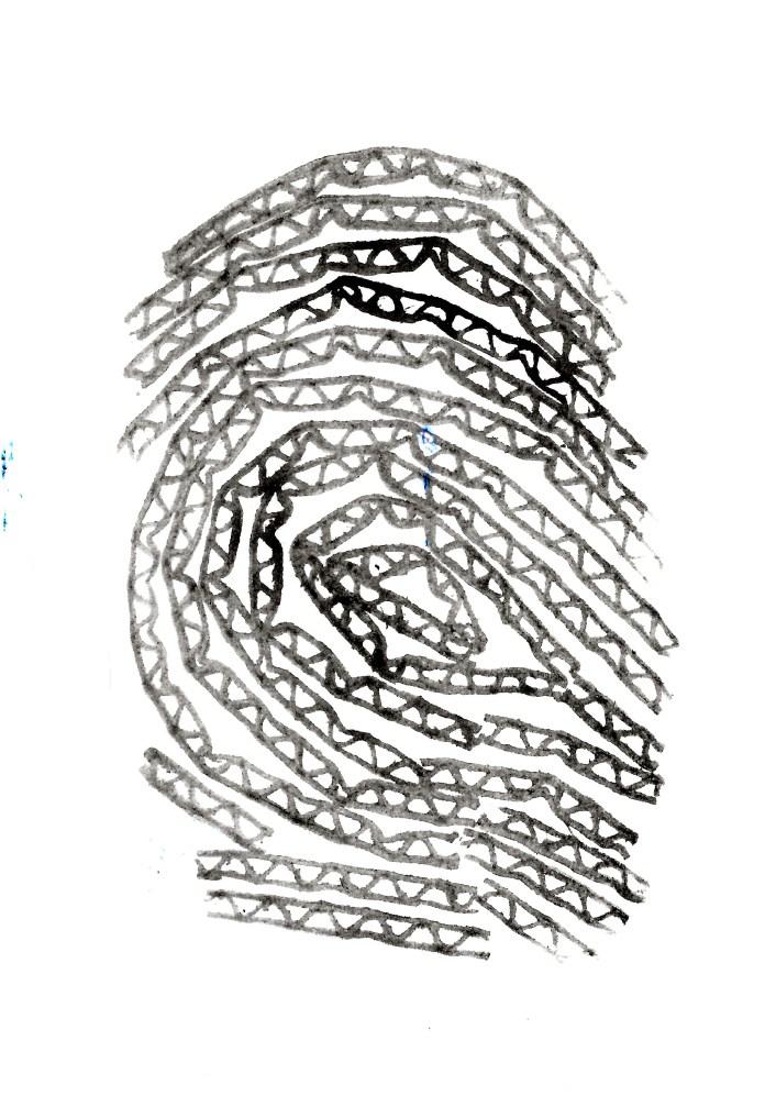 Odciski palca z karotnu