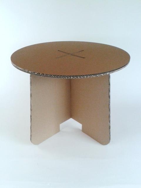 Stol z karotnu skladany - 1