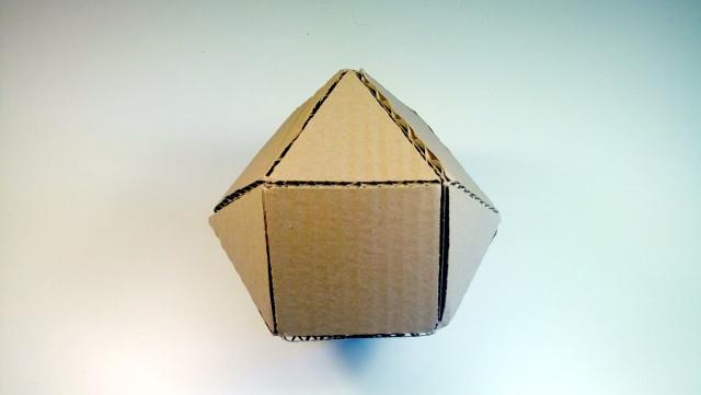 Bryły z kartonu – 01