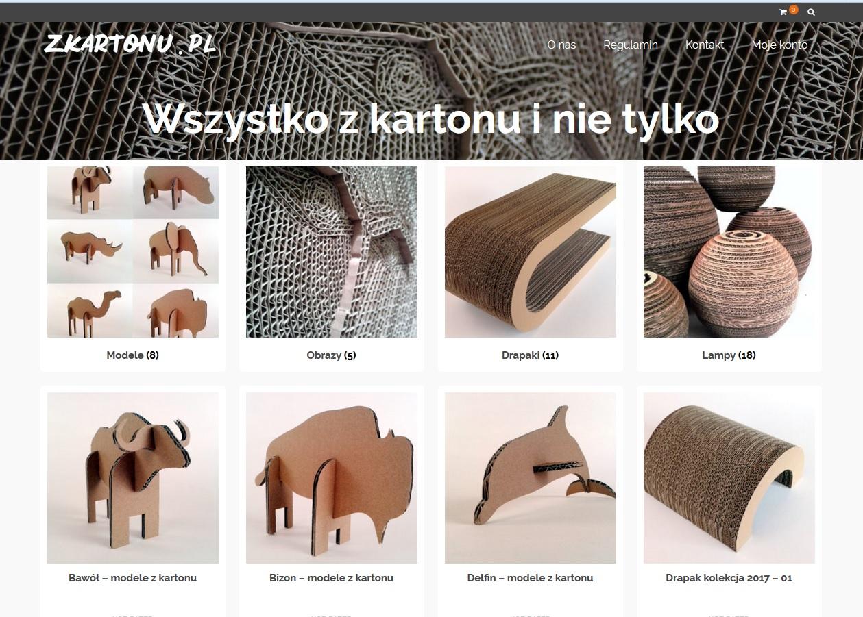Sklep zKartonu.pl  – sprawdź nasze ceny i dostępność