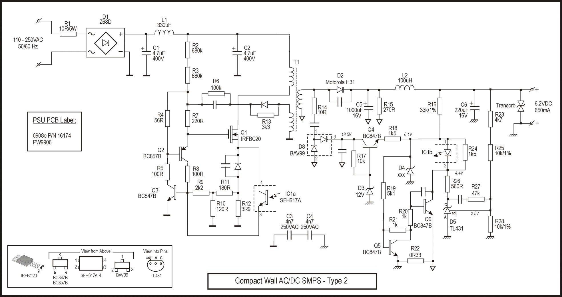 24v Battery Charger Circuit Diagram 20v Regulated Power Supply Powersupplycircuit