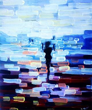 abstract art painting, artist Zlatko Music
