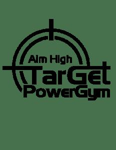 Target Gym logo.