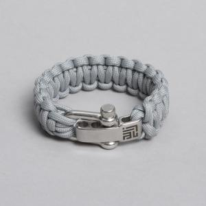 Grey Paracord by ZLC.