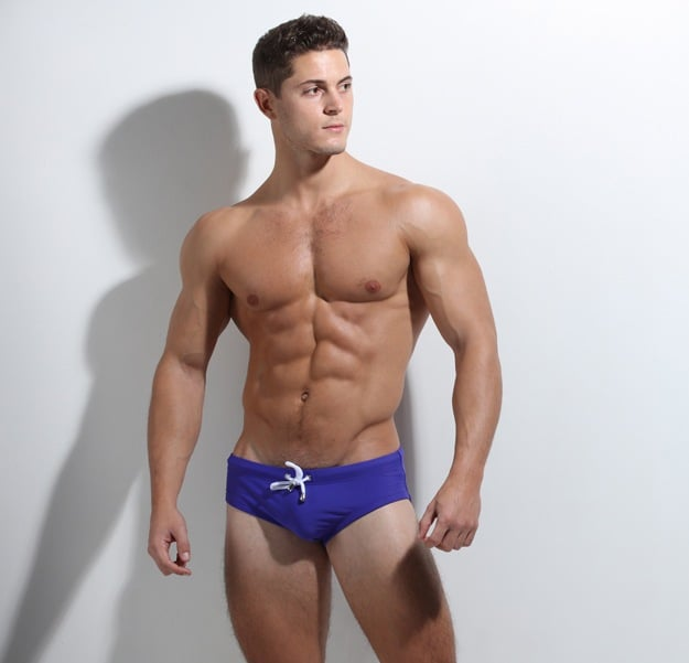 ZLC Violet Blue Swimwear Reversible and Recycled