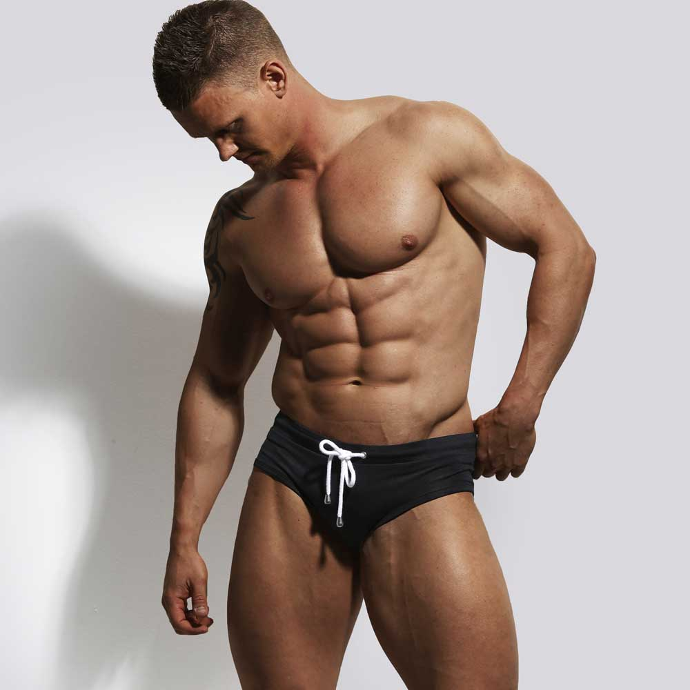 Black swimwear by ZLC.