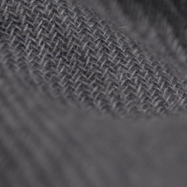 Pashmina Shawl dark Grey Cashmere scarf