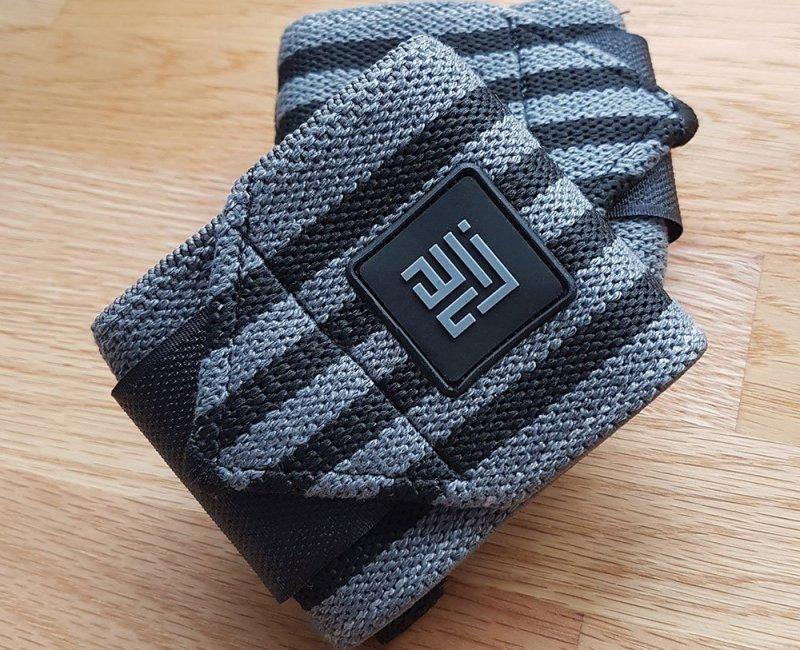 ZLC Black Grey Wrist Wraps - Original