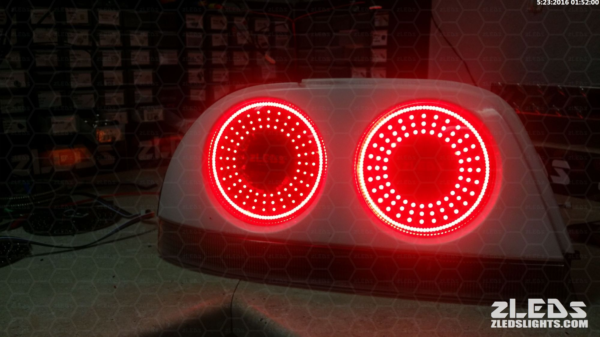 hight resolution of nissan gtr r33 rear led conversion i