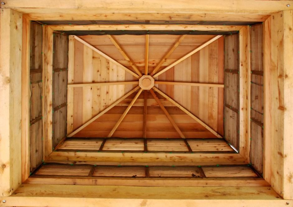 Příklad použití - PLUS W-olej - vodoodpudivá lazura na dřevo